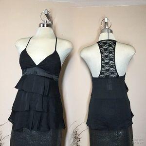 Urban Behaviour, black lace top